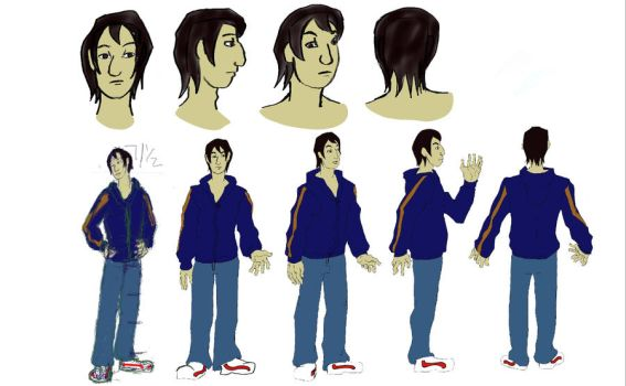 Character turn arounds_3 by Cuzzobuduzzo