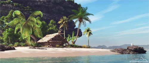 Perfect Hideaway Prt. 2 by 3DLandscapeArtist
