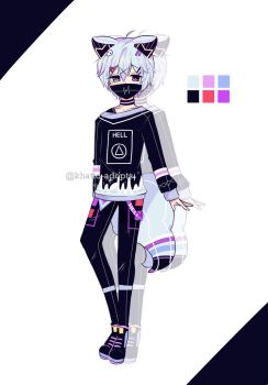 #5 | SB $1 Bishie Adopt Auction | CLOSED by khatto-adopts