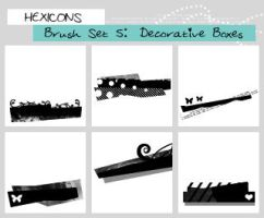 Decorative Boxes Brushes by thewakeofsaturday