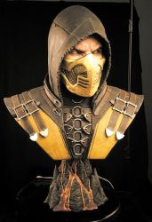 Scorpion Life Size Bust by FritoFrito
