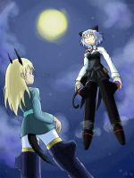 Strike witches by Hapuriainen