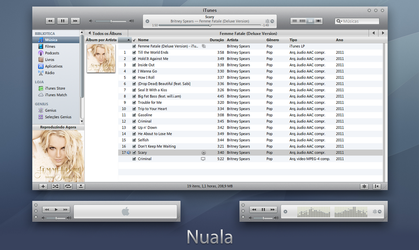 Nuala iTunes 10 for Windows by 1davi