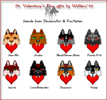 St. Valentine's Day gifts by Wol4ica