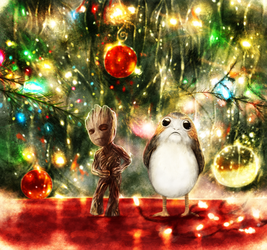 Merry Christmas and Happy New Year by p1xer