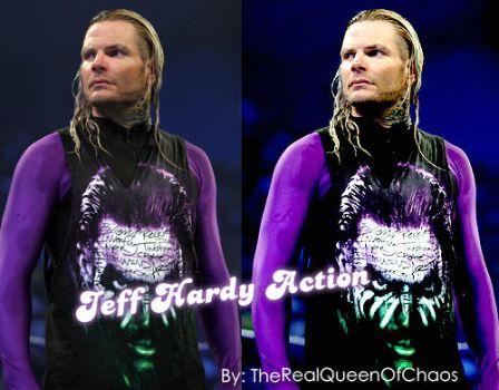 Jeff Hardy Action by TheRealQueenOfChaos