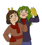 TFBW: Pat and Blaire by ZannyHyper
