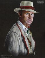 The 5th Doctor - Peter Davison by The-Art-of-Ravenwolf
