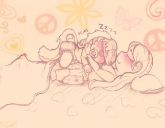Night time snuggles by NowiGreen