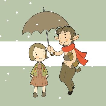 Lucy and Mr.Tumnus by matsutakedo