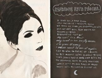 Wreck This Journal - Chelsea Wolfe #2 by eemvisan