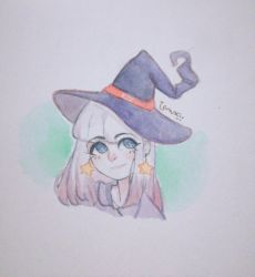 Comission of a witch uwu by TanukiWannaEat
