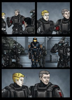 Halo: DogTag Origins Page 1 by Guyver89