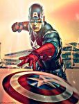 Captain America by ModalRhyme87