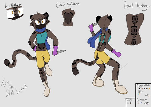 Tea The Leopard [REF SHEET] by Tiathefox123