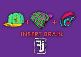 Fj Insert Brain by sly55