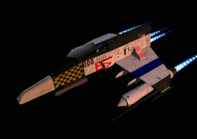 Afterburner Test (critiques welcome) by ChrisNs