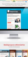 Precise Multipurpose E-newsletter Template by Saptarang