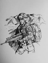 French Special Forces by PossessedIron