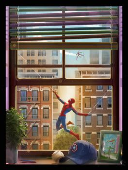 Spider-Man by AndyFairhurst