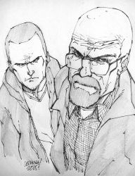 BREAKING BAD sketch. by curseoftheradio