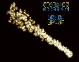 Sparkles Brush by MyLifeIsMadeOfPaper