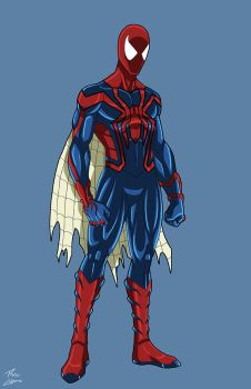 Spider-man Unlimited redesign commission by phil-cho