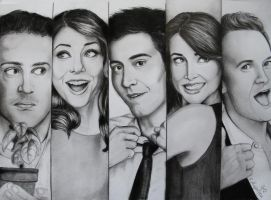 How I Met Your Mother by CreativElya