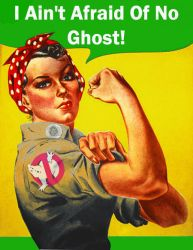 Rosie the Ghostbuster by maldo71
