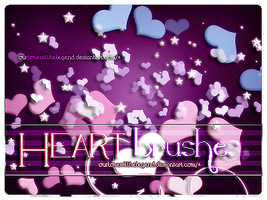 Heart.BRUSHES by OurMagicDestiny