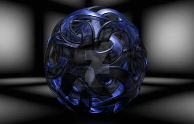 Starball Abstraction by ReptillianSP2011
