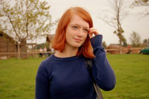 ginger hair. by iamoutofdate