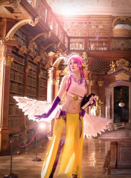 Jibril - No Game No Life by kittychamallow
