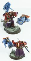 Pre-Heresy Thousand Sons Sorcerer by Proiteus
