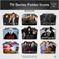 TV Series Folder Icons - PACK 06 by limav