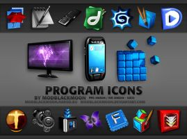 MB Program Icons I by modblackmoon