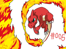#005 Charmeleon by SaintsSister47