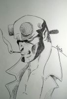 HELLBOY by Devilsspade