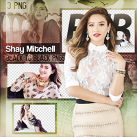 Shay Mitchell Png Pack by selenatorgorl