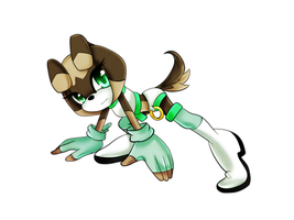 Clare Mint The Dog by Haru-Shonta