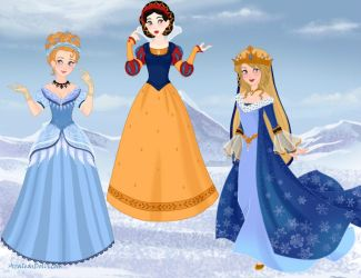Historically Accurate Disney Princesses 1 by M-Mannering