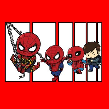 0582: Peter Parker's journey by Agito666