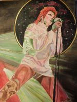 David Bowie by jayney50