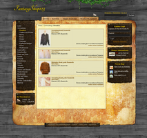 Fantasy Shop Template by Moev