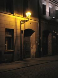 Night Street3 by Comacold-stock