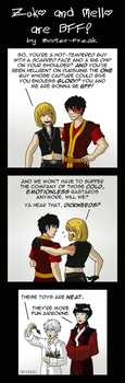 Zuko and Mello are BFF by Booter-Freak