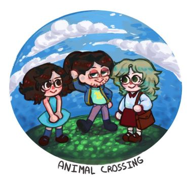 Animal Crossing Friends by Quite-Lovely-Puzzles