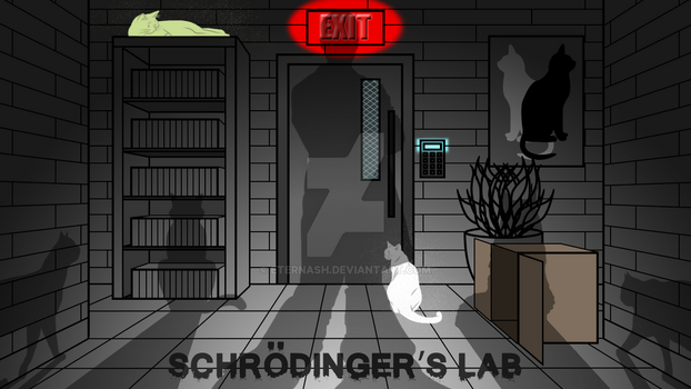 Schrodinger's Lab Banner 1 by EternASH