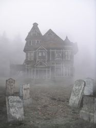 Haunted House Background by FictionChick