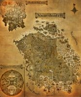 The Elder Scrolls III: Morrowind A3 map by CrashElements